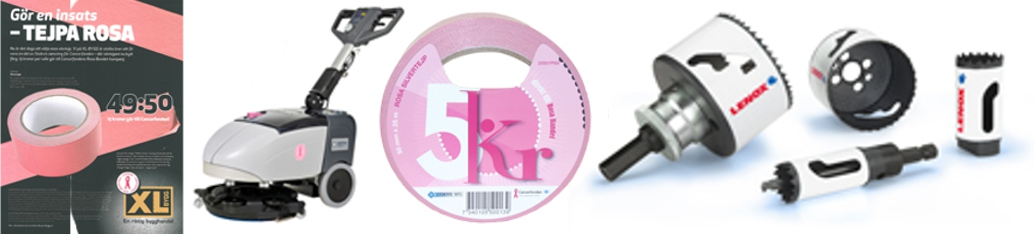 Rosa bandet produkter 2013 man