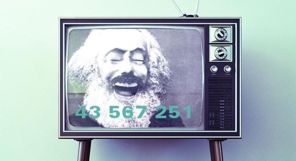 TV skratt