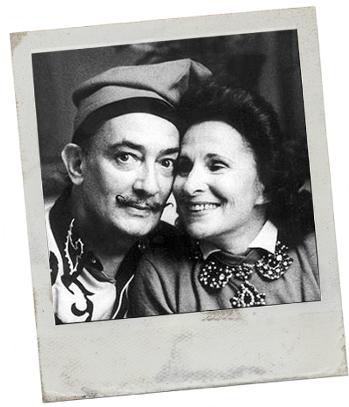Dali & Gala Polaroid 23