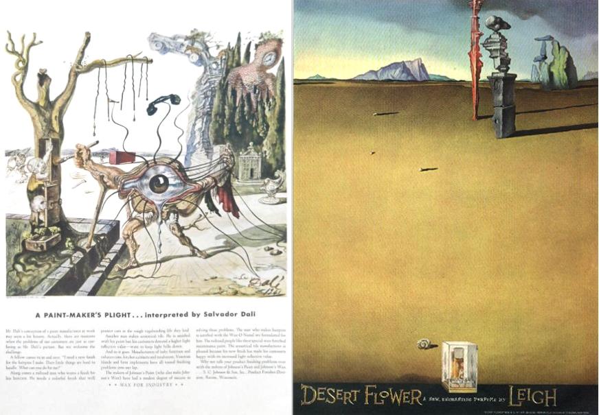Johnson Paint 1942 & Desert Flower 1946