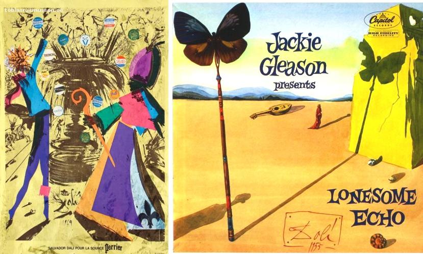 Dali-Perrier-1969-Jackie-Gleason-cover-1955 b