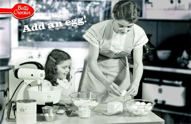 Bernays add an egg 2