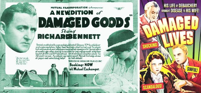 Damaged Goods 1917 (reedition) 1933