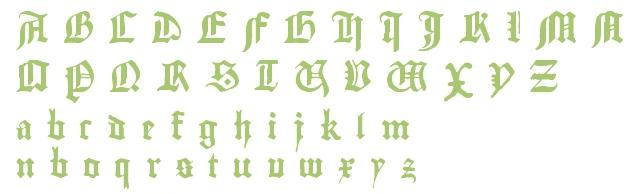 gutenberg-font b